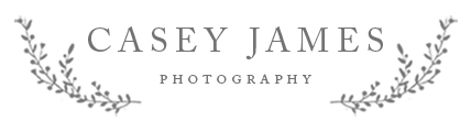 Idaho Falls Photographer | Casey James Photography logo